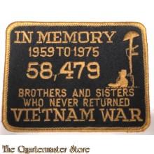 Blazer badge in Memory 1959 to 1975