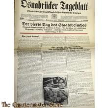 Zeitung Osnabrucker Tageblatt 7 Mai 1938