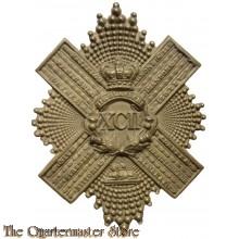 Belt plate XCII 92nd Gordon Highlanders 1881