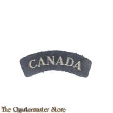 Shoulder flash CANADA RCAF WW2