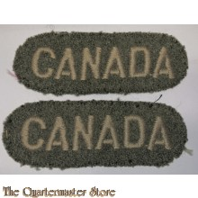 Shoulder titles CANADA (rounded)
