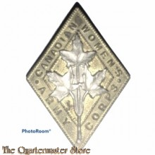 Cap badge Canadian Army Women's Corps C.W.A.C.
