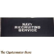 Brassard US Navy Recruiting Service WW2