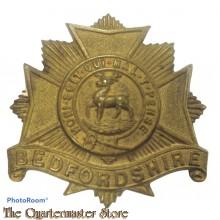 Cap badge Bedfordshire Regiment (c. 1914–1918)