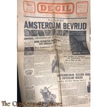 """Satirisch NSB blad """"de GIL"""" no 13,  30 augustus 1944"""