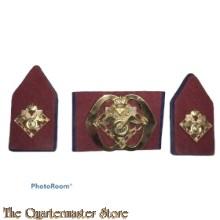 Baret embleem en kraag Regiment Bevoorradings- en Transporttroepen