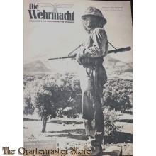Magazine Die Wehrmacht 7e Jrg no 14,  30 juni 1943
