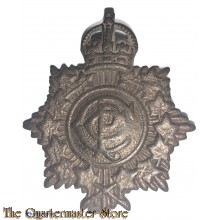 Collar badge Canadian Army Postal Corps WW2 C.P.C
