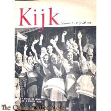 2 Maandelijks blad Kijk no 1, de bevolking van Eindhoven heet de bevrijders welkom
