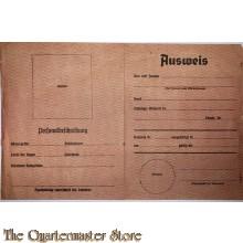 Flugblatt / Leaflet H.401, Ausweis/Kannst du dich ausweisen? Can You Produce an Identity Card?