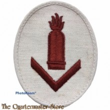Armel abzeichen KM Sonderausbildung Geschützführer I (Trade badge qualified artillery leader I)
