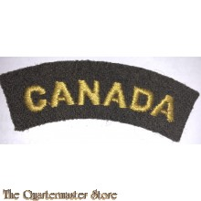 Shoulder flash CANADA CWAC WW2
