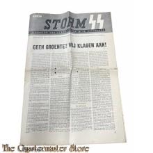 Storm SS Weekblad der Germaansche SS in Nederland 3e jrg bo 44 , 25 febr 1944