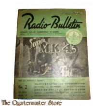 Radio Bulletin no 2 1943 de Muiderkring te Muiden in WW2