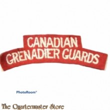 Shoulder flash Canadian Grenadier Guards,  2nd Canadian Division