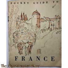 Pocket guide of France 1944
