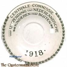 Wandbord Centrale Comissie uitzending Nederlandsche Kinderen naar buiten 1918