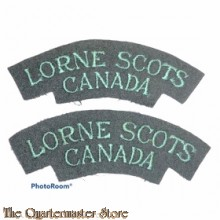 Shoulder flashes The Lorne Scots (Peel, Dufferin and Halton Regiment), 4th Canadian Division