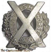 Cap badge Scottish Horses 1900 Yeomanry Pre 1903