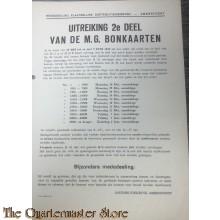 Uitreiking 2e deel van de M.G. bonkaarten 28 mei t/m 2 juni 1945