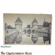 Postcard 1914-18 -  Kortrijk de Broeltorens