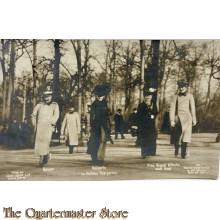 (Feld) Postkarte WK 1 Kaiser Wilhelm mit Familie