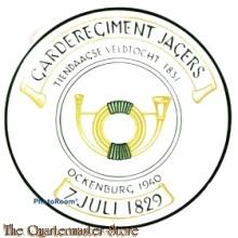Gedenkbord 'Garderegiment Jagers 7 juli 1829'
