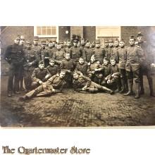 Groepsfoto 15e Regiment Infanterie 1914