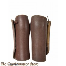 France - Guetres 1940 (WW2 French leather officers gaiters)