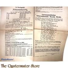 Bonaanwijzing Distributie Amersfoort no 429   18 t/m 24 maart 1945