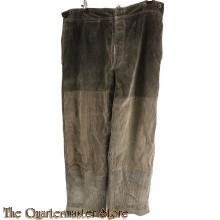"""Trousers M15 """"Ersatz"""" french Army WW1"""