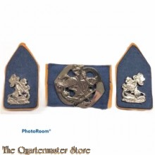 Baret embleem en kraag  Regiment Huzaren, Huzaren van Prins van Oranje