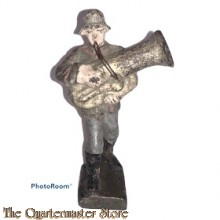 "Wehrmacht Tuba muzikant ""Lineol"" (German musician WW2)"