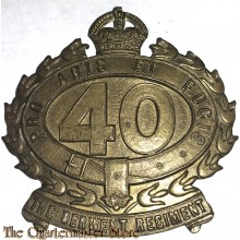 Cap badge 40th Inf Bat (The Derwent Regiment)