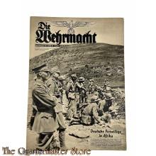 Magazine Die Wehrmacht  no 21, 9 okt 1940