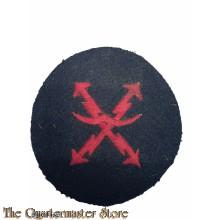 KM Tätigkeits abzeichen Flugmeldedienst (KM air raid warning personnel's trade badge)