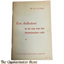 Brochure - Een Dolkstoot in de Rug van het Nederlandse Volk 1950