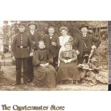 Photo NCO mit Familie 1914-15
