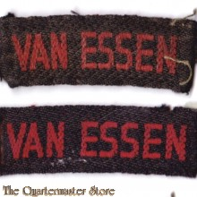 Straatnamen van Essen (Regiment Veld Artillerie)
