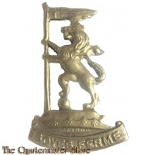 Cap/collar badge  New Zealand Rifle Brigade
