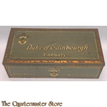 Zigaretten dose Herzog von Edinborough  (Tin Cigarettes duke of Edinborough)