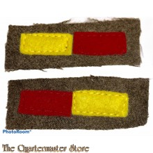 Arm of service strips WW2 Royal Armoured Corps R.A.C.