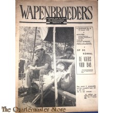 Krant, Wapenbroeders no 41 Ned Strijdkrachten in Indonesie 3e jrg 13 januari 1949