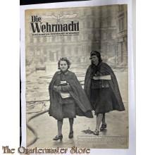 Magazine Die Wehrmacht 7e Jrg no 26 , 15 Dezember 1943