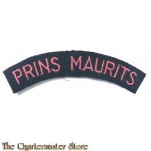 Straatnaam Prins Maurits  , Regiment Veld Artillerie (gebogen)