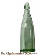 WK1 Bierflasche Otto Jenke, Sagan (German Glass beer bottle WW1 Otto Jenke)