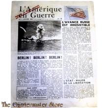 L'Amerique en Guerre 5 janvier 1944 no 83