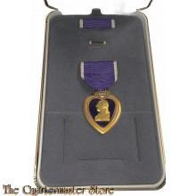 Medaille purple heart in doos van uitgifte (Medal Purple Heart in orginal box)