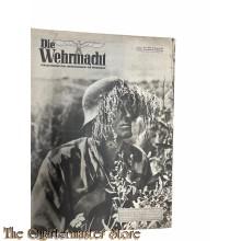 Magazine Die Wehrmacht  7e Jrg no 20 , 22 September 1943