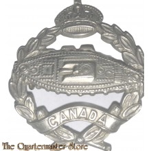 Cap badge Armoured Tank Corps WW2